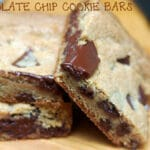 OOEY GOOEY CHOCOLATE CHUNK BARS