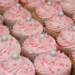 SCRUMPTIOUS VANILLA CUPCAKES FOR A SWEET BIRTHDAY GIRL!