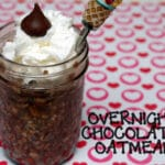 CHOCOLATE OVERNIGHT OATMEAL!