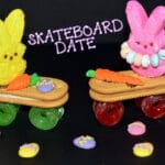 LOVE AT FIRST PEEP….ON A SKATEBOARDING DATE!
