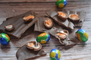 MINI CADBURY CREME EGG BARK