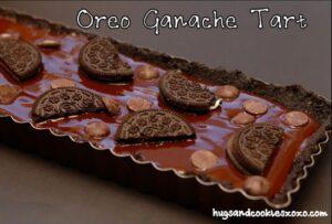 OREO GANACHE TART….BE STILL My BEATING HEART