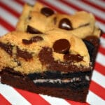 OREO BROOKIE BARS…BEWARE THESE ARE DANGEROUSLY DELICIOUS!