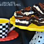 DARK CHOCOLATE OREO CHEESECAKE BARS
