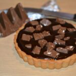 TOBLERONE CHOCOLATE GANACHE SUGAR COOKIE TART