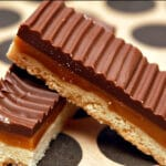 Caramel Shortbread Hershey Coated Bars!!!