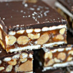 CRAZY CARAMEL, REESE'S & SALTED PEANUT BARS