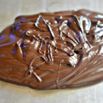 how to make chocolate curls without shortening