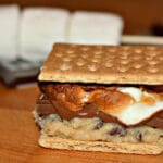 COOKIE DOUGH S'MORES!!!!! OUTRAGEOUS!!!!