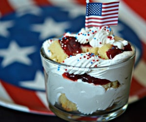 4TH OF JULY MINI TRIFLES
