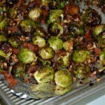 BRUSSEL SPROUTS WITH BACON, PECANS & HONEY