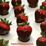 CHOCOLATE DIPPED STRAWBERRIES!!!