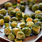 WORLD'S MOST SCRUMPTIOUS BRUSSEL SPROUTS