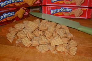 MILK CHOCOLATE NUTTER BUTTER BARK