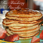 GLUTEN FREE STRAWBERRY SHORTCAKE PANCAKES