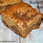 THICK & SCRUMPTIOUS BUTTERFINGER BARS