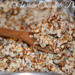 CARAMEL & WHITE CHOCOLATE POPCORN