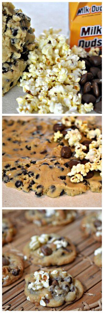 movie cookies collage