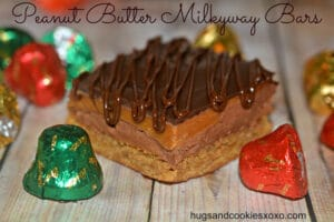 PEANUT BUTTER MILKYWAY BARS