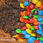 Skippy Dark Chocolate Peanut butter Gluten Free Oatmeal M & M cookies