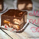 EASIEST MICROWAVE MILKY WAY FUDGE!!!!!