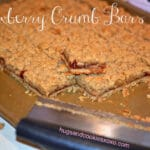 STRAWBERRY CRUMB BARS….BUTTER & SCRUMPTIOUS!!!