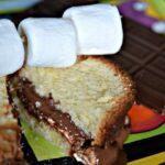S'MORES CREAM CHEESE POUND CAKE
