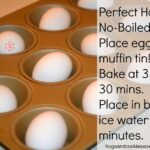 PERFECT HARD NO-BOILED OVEN EGGS!!!!