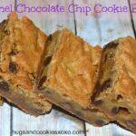 CARAMEL STUFFED CHOCOLATE CHIP COOKIE BARS