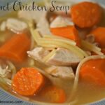 CROCKPOT ROTISSERIE CHICKEN SOUP