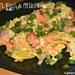 SALMON, EGGS & ONION