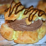 MOM'S FAMOUS CREAM PUFFS WITH A CHOCOLATE TWIST!