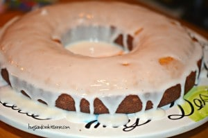 GRANDMOTHER'S SECRET TEA CAKE RECIPE WITH GLAZE