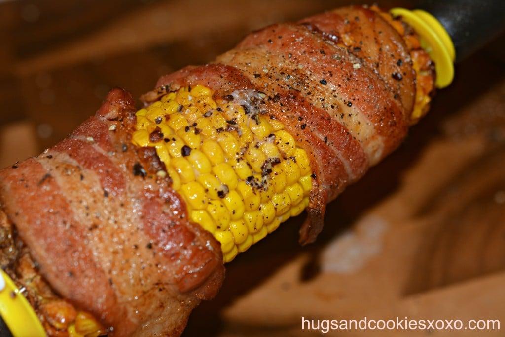 bacon roasted corn