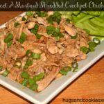 Apricot & Mustard Shredded Crockpot Chicken