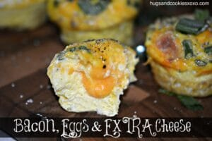 bacon egg cheese cups