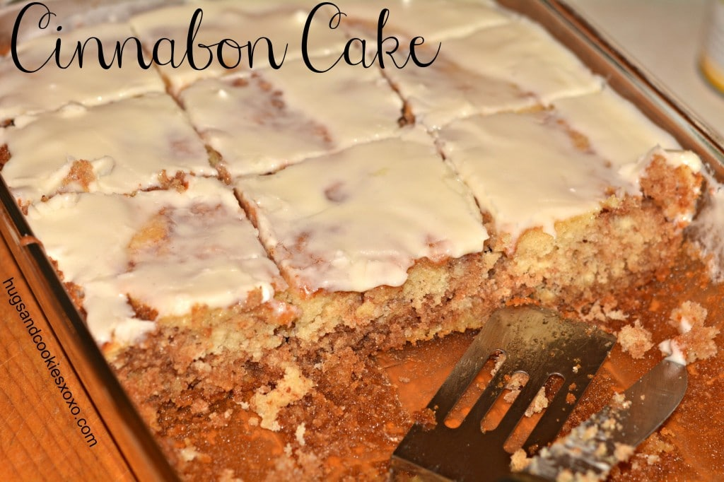 Cinnabon Cake With Cream Cheese Frosting Hugs And