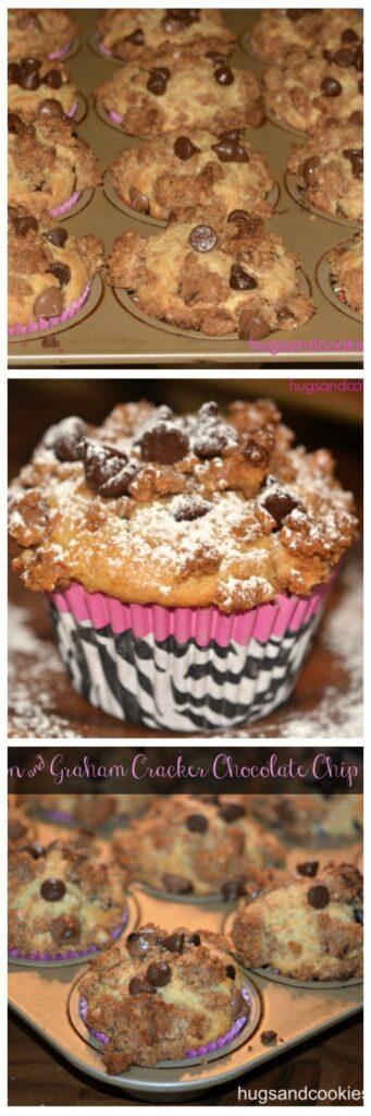 cinnamon graham cracker muffins