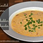 Roasted Corn & Cheddar Chowder