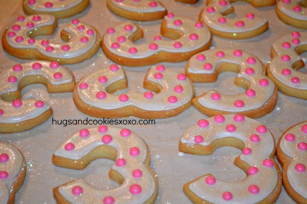 decoated sugar cookies