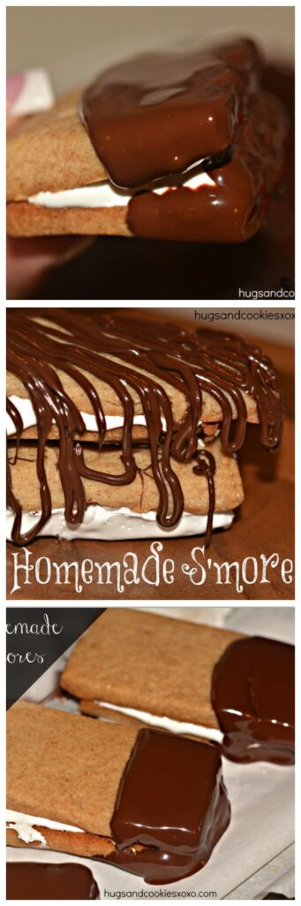 Homemade S'mores - Hugs and Cookies XOXO