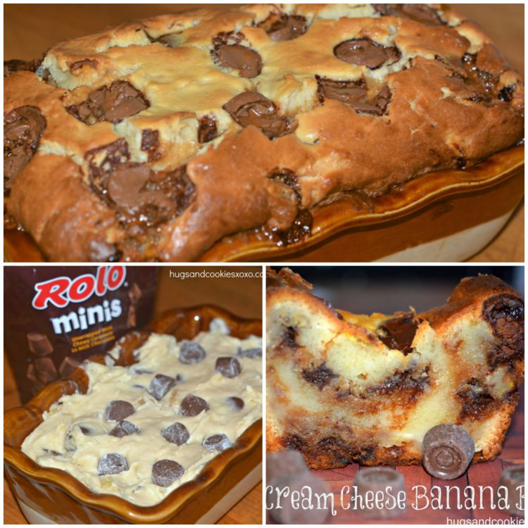 ROLO CREAM CHEESE BREAD