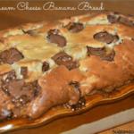 ROLO CREAM CHEESE BANANA BREAD!!!