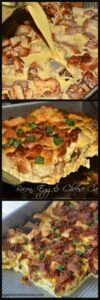 Overnight Bacon, Egg & Cheese Casserole
