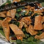 Grilled Chicken Salad & Balsamic Vinaigrette