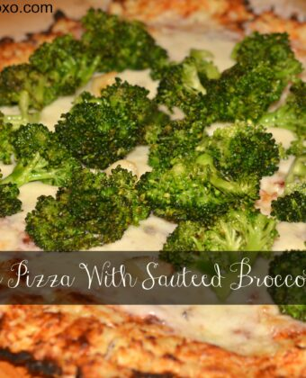 cauliflower pizza with broccoli