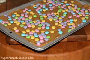 M & M Cookie Sticks!