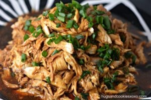 Honey Garlic Crockpot Chicken
