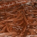 Chocolate Hazelnut Marbled Brownies