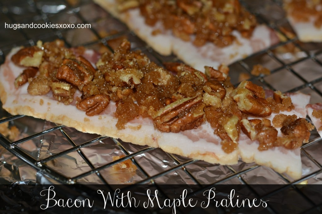 maple praline bacon